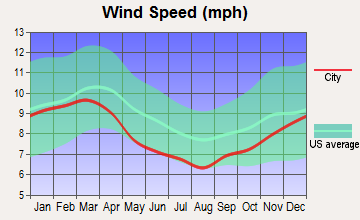 Ball Ground, Georgia wind speed