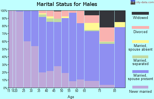 Zip code 02176 marital status for males