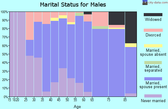 Zip code 02563 marital status for males