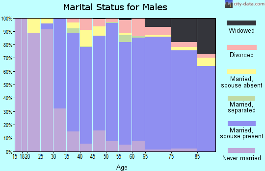 Zip code 11050 marital status for males