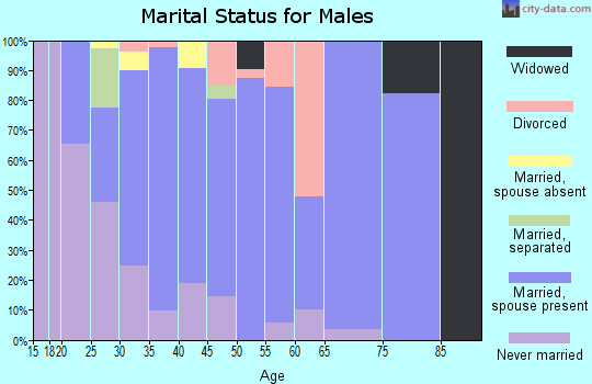 Zip code 30220 marital status for males