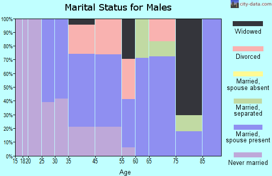 Zip code 31726 marital status for males