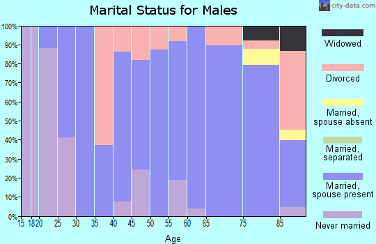 Zip code 50248 marital status for males