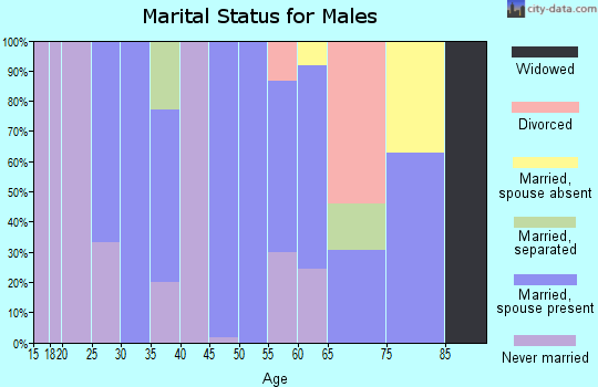 Zip code 78330 marital status for males