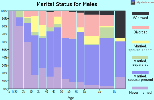 Zip code 78644 marital status for males