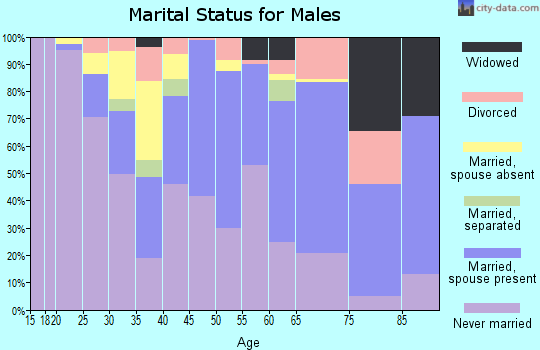 Zip code 87013 marital status for males
