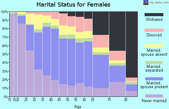 Zip code 11220 marital status for females