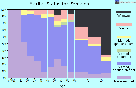 Zip code 11360 marital status for females