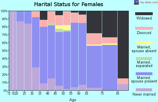 Zip code 12186 marital status for females