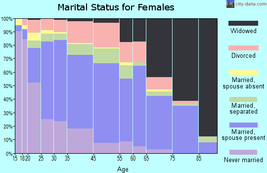 Zip code 31728 marital status for females