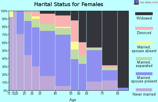 Zip code 31746 marital status for females