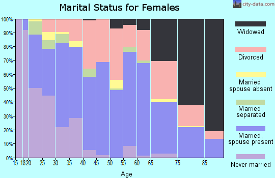 Zip code 41653 marital status for females