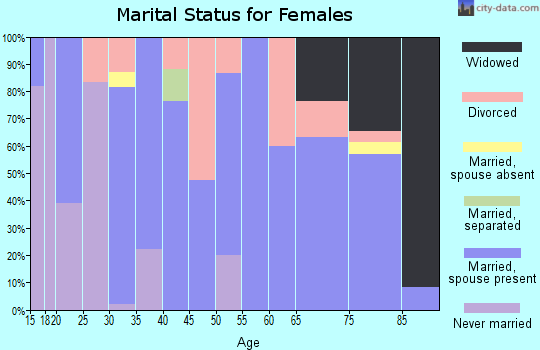 Zip code 56221 marital status for females