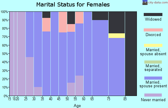 Zip code 56522 marital status for females