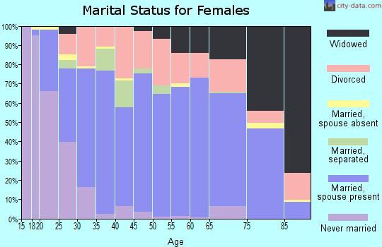 Zip code 65536 marital status for females
