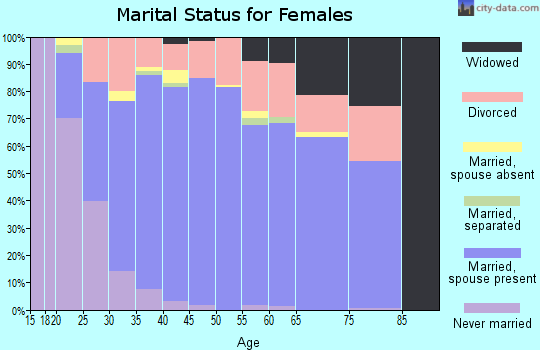 Zip code 78259 marital status for females