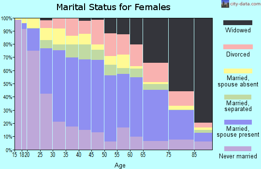 Zip code 78520 marital status for females