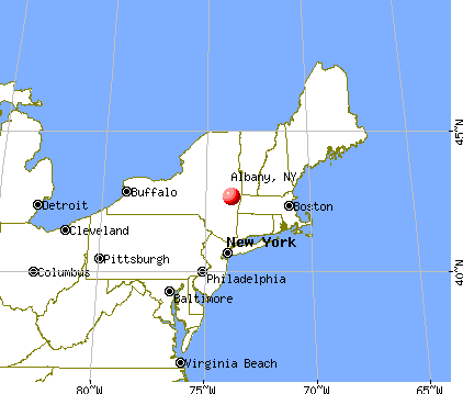Map Of Albany Ny Albany, New York (NY) profile: population, maps, real estate